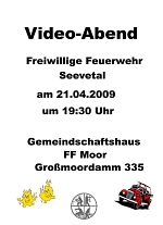 Plakat Videoabend 2009
